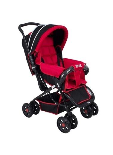 Rival Rıval Tam Yatarlı Çift Yönlü Bebek Arabası Lucido Rv102 Rival Lucıdo Fuşya